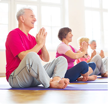 yoga for seniors with chair yoga for seniors and beginner