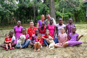 Luminous: Brooks Family with their family in Kenya